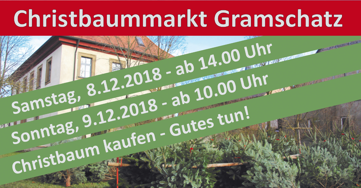 2018 christbaummarkt